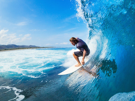 the waves we ride...