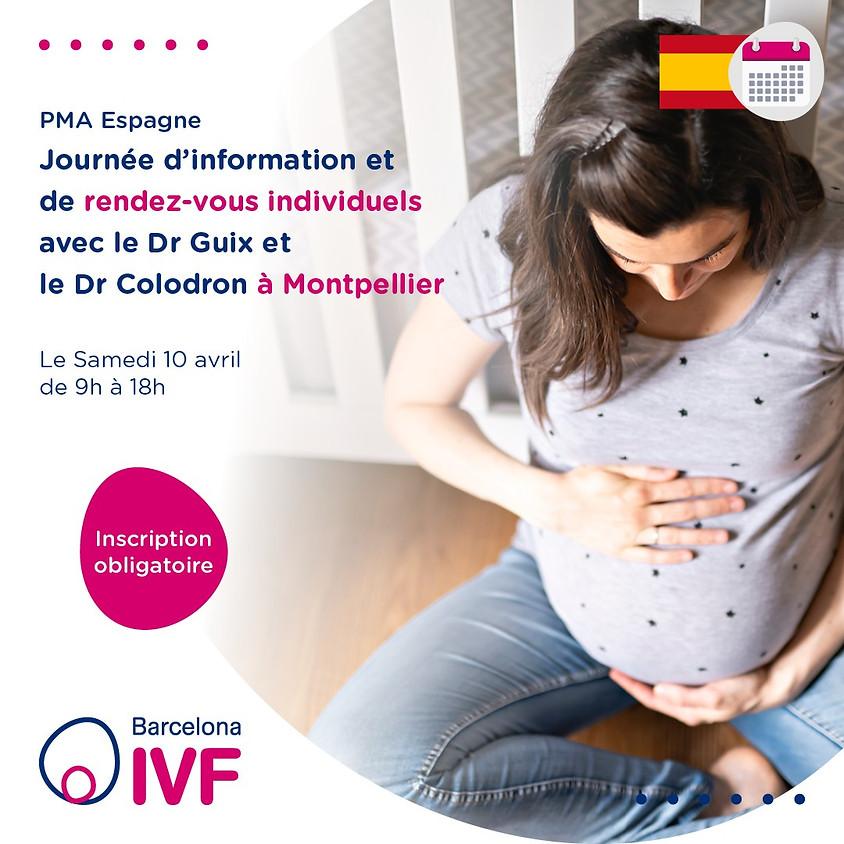 BarcelonaIVF journée d'information à Montpellier