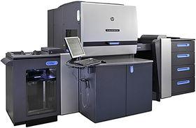 Печать на  HP Indigo 5600