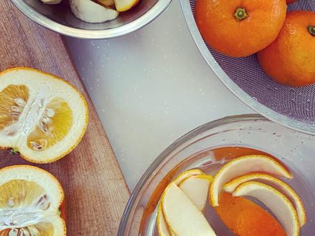 橙ピールチョコレート作ります。
