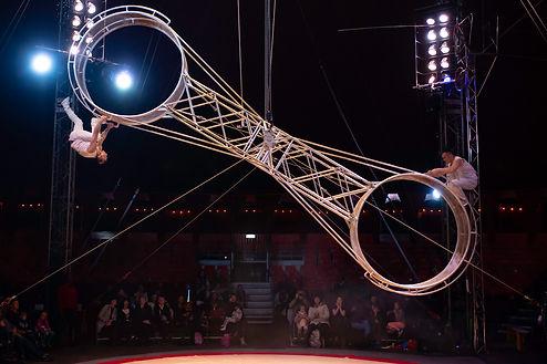 Roue de la mort Cirque de Noël de Toulouse