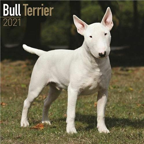 English bull terrier calendar 2021