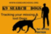 K9 searchdogs