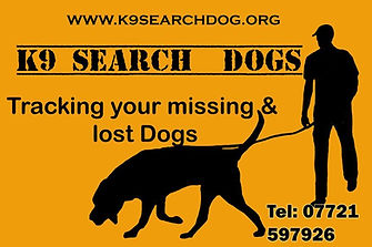 K9 searchdogs