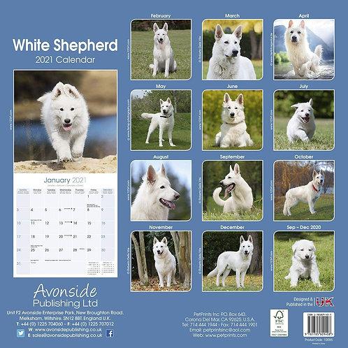 White Shepherd Calendar.