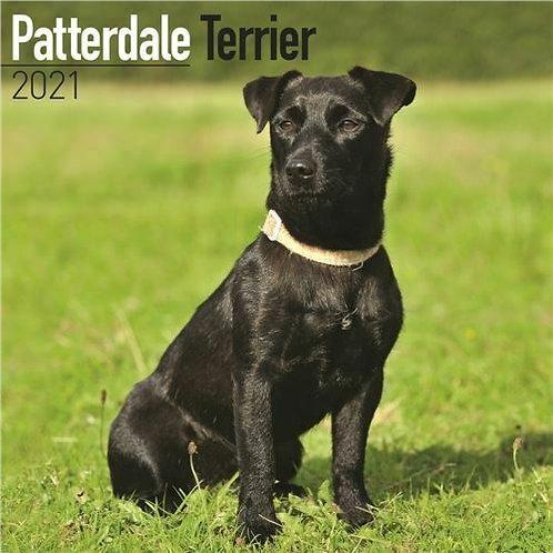 Patterdale terrier Calendar 2021