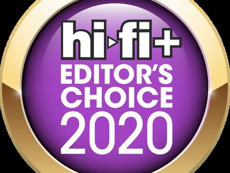 Parabolica awarded Hi Fi Plus Editor's Choice