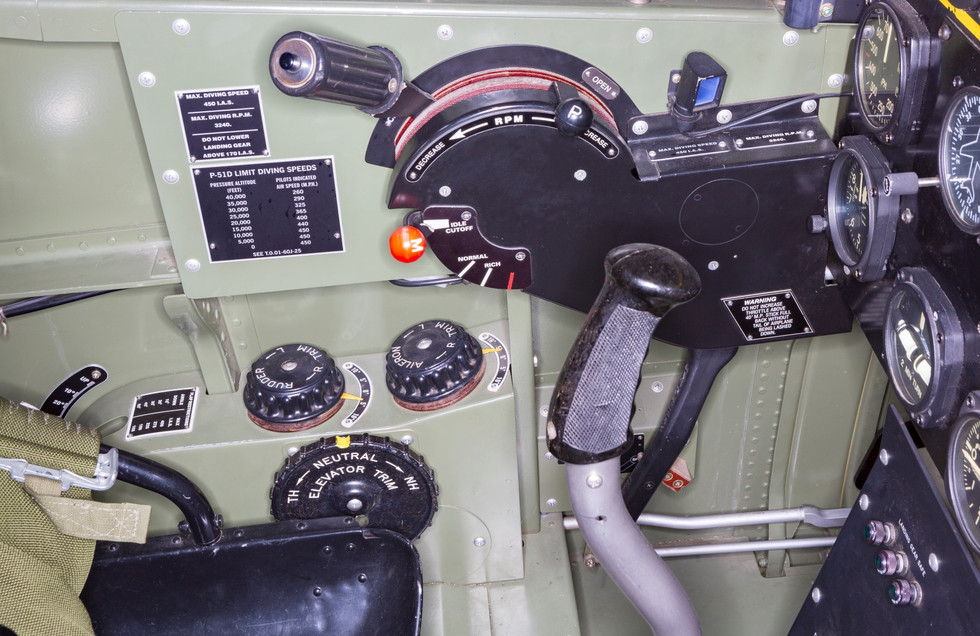 Rear Cockpit