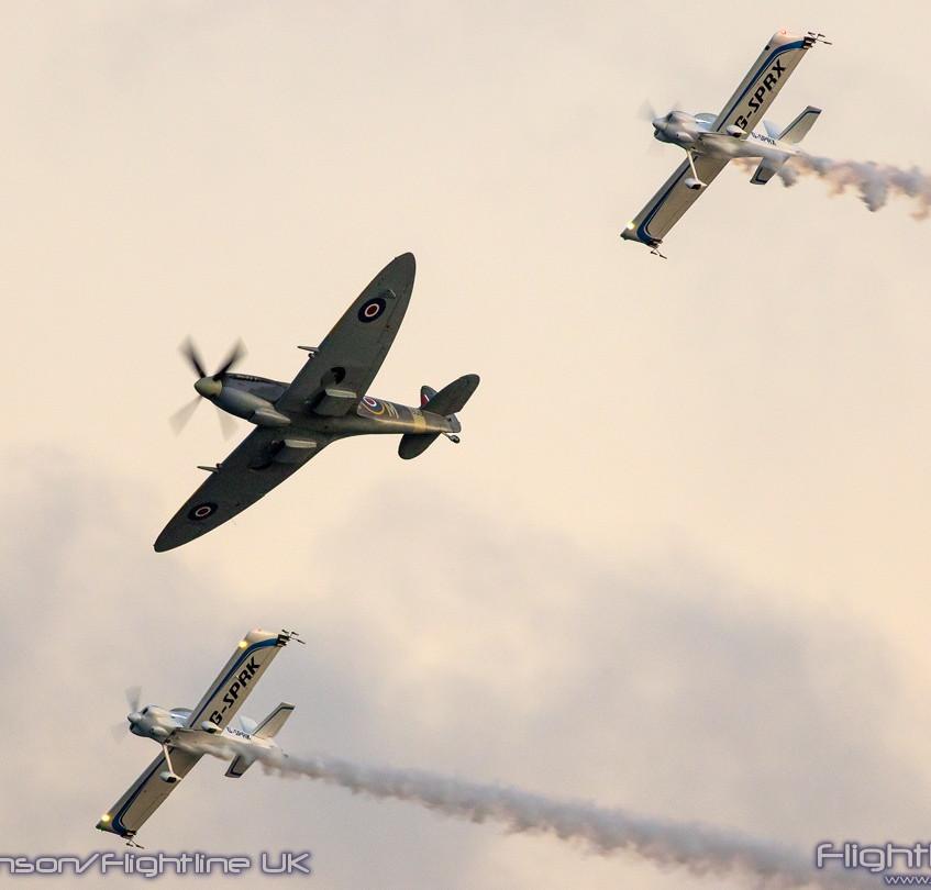 Spitfire and FireFlies