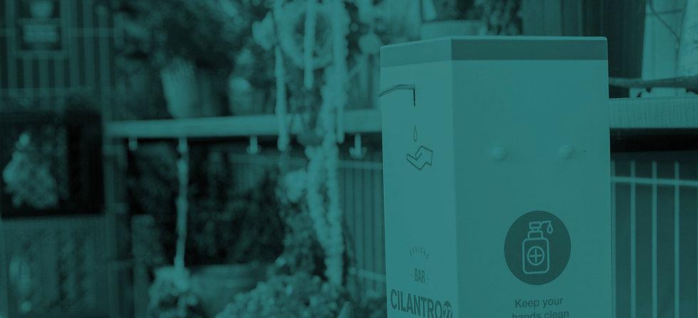 Hands Free Sanitizer Dispenser