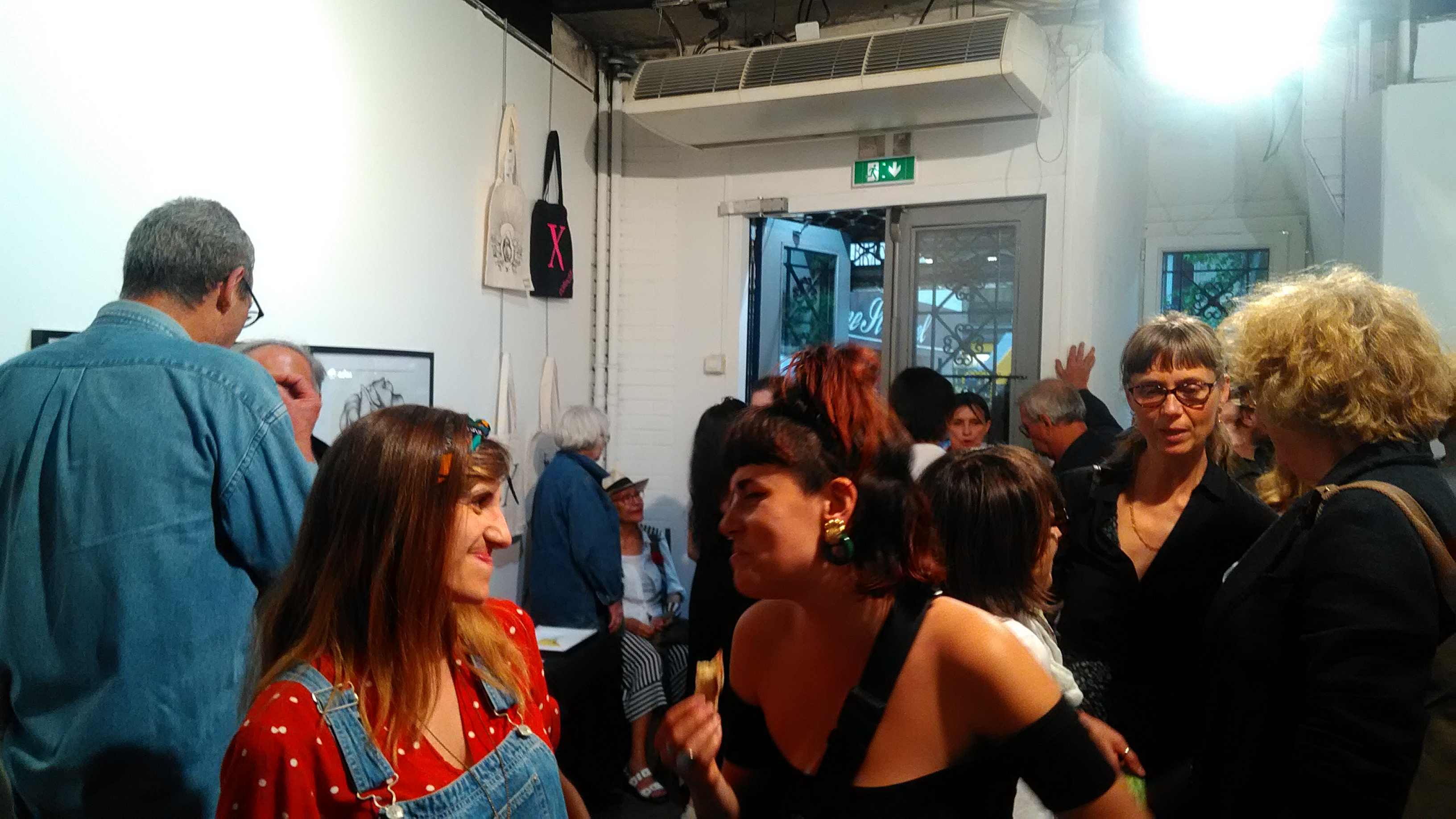 Vernissage Collectif X