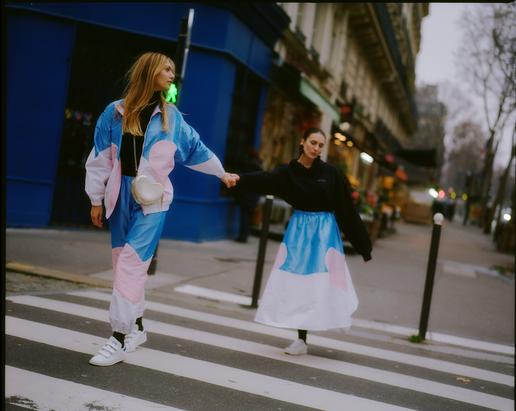 V2 Jogger Set V2 Maxi Skirt Campaign