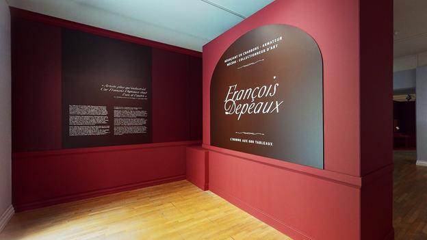 FRANCOIS DEPEAUX, L'HOMME AUX 600 TABLEAUX
