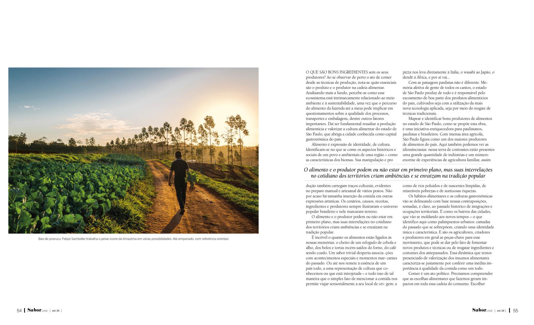 revista Sabor - ed. 34 - OUT/2019