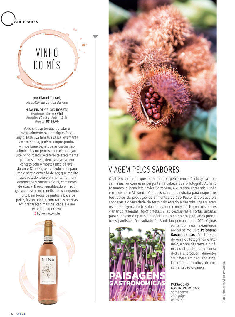 revista AZUL - ed. 80 - DEZ/2019