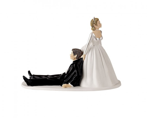 figurine mariage humoristique wilton - Figurine Mariage Humoristique