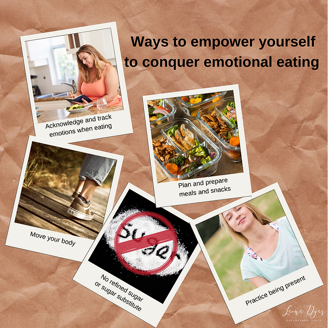Ways to empower your emotional eating (1