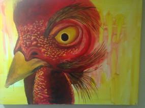 "Acrylic on canvas, 40""w x 30""h, 2016"