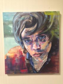 Color Theory class, acrylic on canvas, 2015