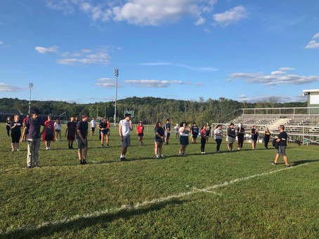BHS Marching Band Camp 2019