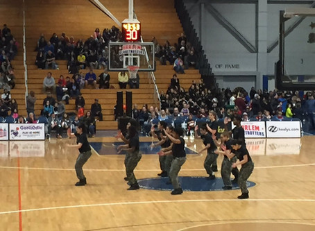 BHS students performed at Globetrotters event