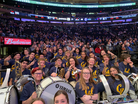 BHS Marching Band rocked Madison Square Garden