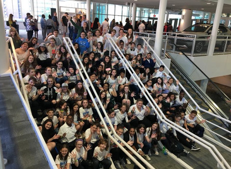 H.H. Wells Chorus students take part in American Young Voices