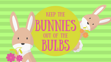 Keep the Bunnies Out of the Bulbs
