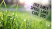 Five Early Spring Lawn Care Tips
