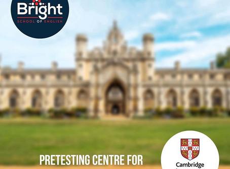Bright здобула звання Pretesting Centre for Cambridge Assessment English