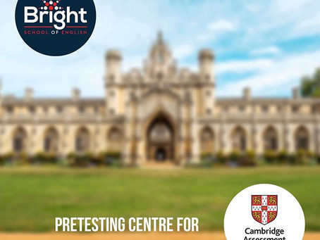 Bright здобула звання Pretesting Centre for Cambridge Assessment English