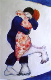 Etreintes -H sr toile-146x97-2003.bmp