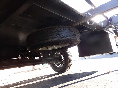 """Spare Tire and Carrier - 15"""""""