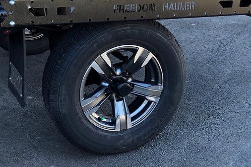 """Custom Wheels - 15"""" Aluminum, 8 Ply"""