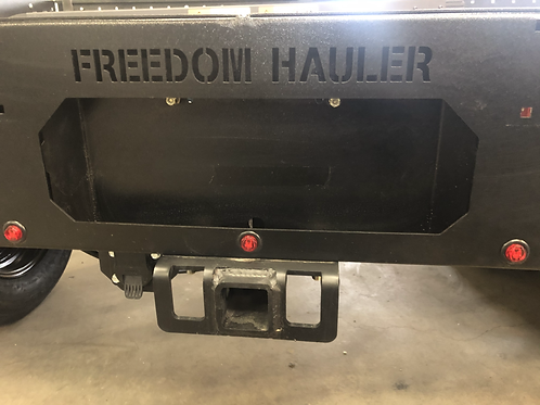 Rear-Mounted Receiver Hitch