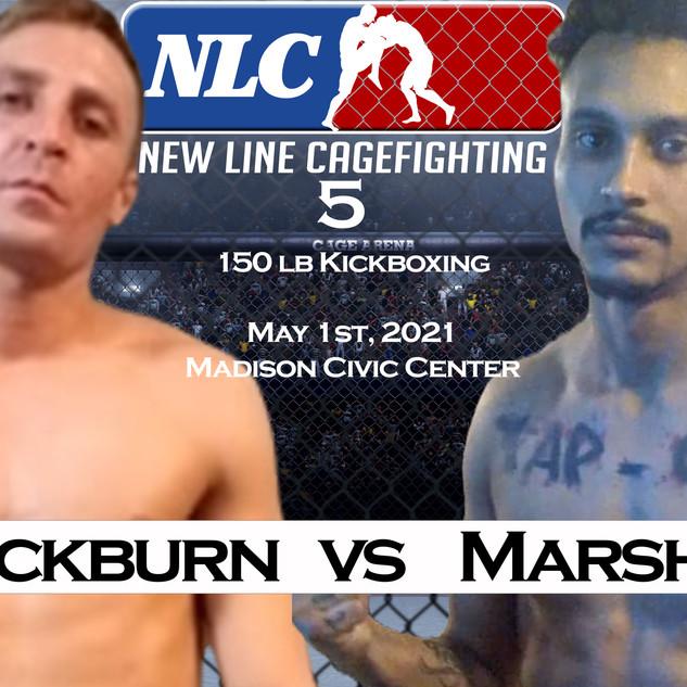 Tim Blackburn vs Jaylin Marshall