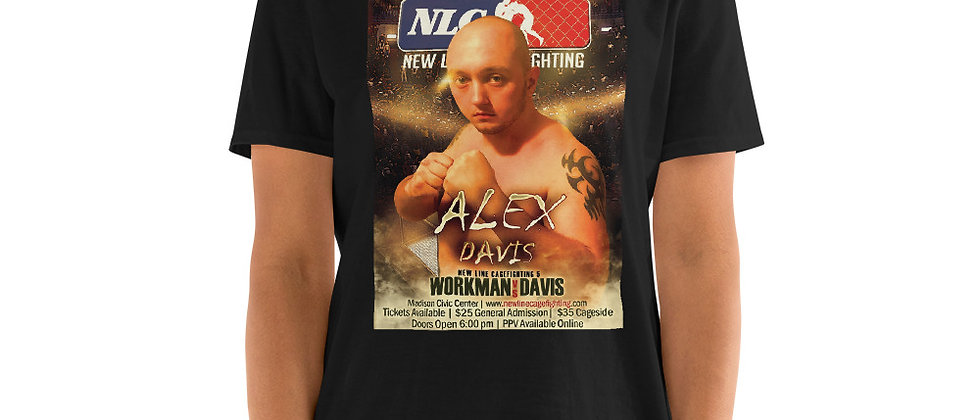 Alex Davis Short-Sleeve Unisex T-Shirt