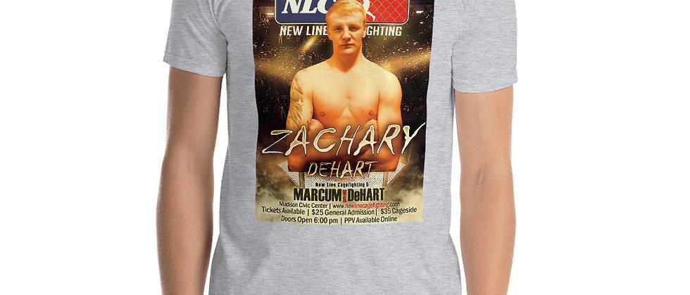 Zach DeHart Short-Sleeve Unisex T-Shirt