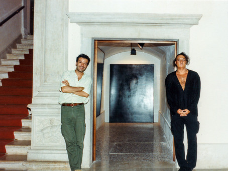 anni fa con Giovanni Manfredini a Venezia
