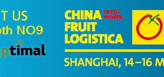 Croptimal's team at Fruit Logistica China!