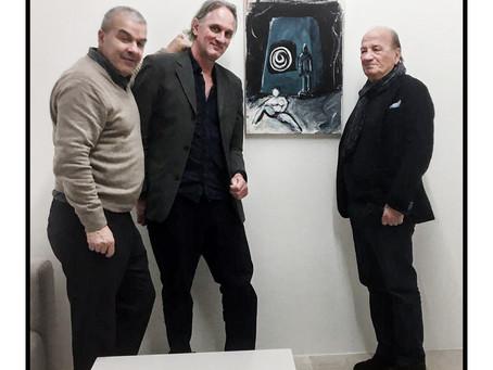Galleria P420 con Erik Kessels e Franco Vaccari alla mostra di Franco MIGRAZIONE DEL REALE 2020