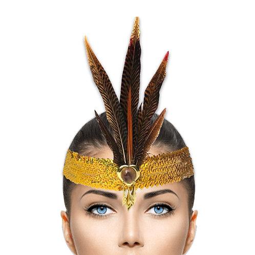 tiara golden heart