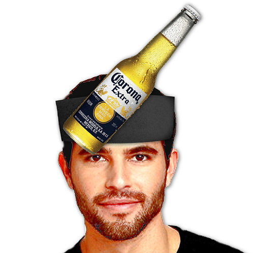 vincha cerveza mexicana