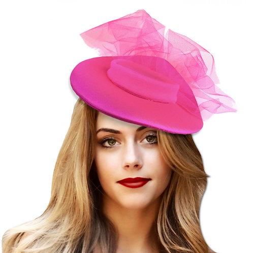 sombrerito con tul