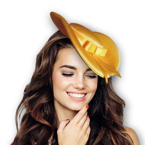 sombrerito con moño