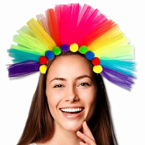 vincha arco iris