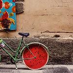 スイカ自転車