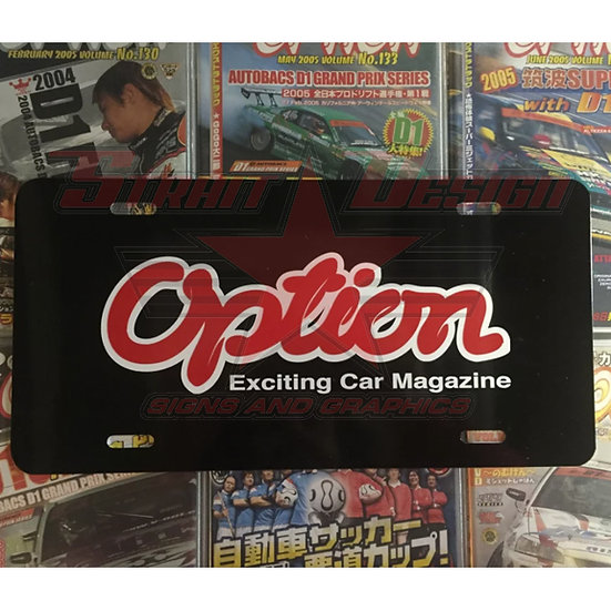 Option Mag Plate