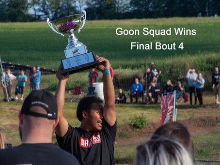 And the FINAL BOUT 4 Champions are....