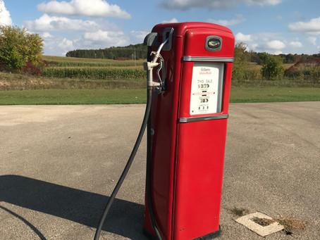 Vintage Gilbarco Calco-Meter Gas Pump